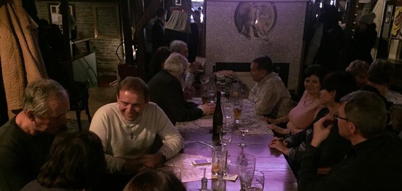 Rekord részvétel az évfolyam vacsorán