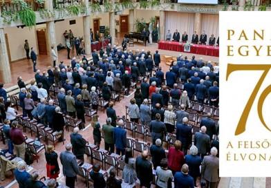 70 éves a Pannon Egyetem – ünnepi ülés Veszprémben